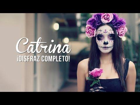 Catrina! Maquillaje y disfraz, fácil!