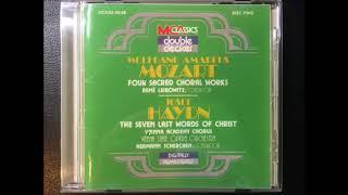 Mozart Four Sacred Choral Works / Rene Leibowitz