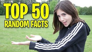 TOP 50 RANDOM FACTS ABOUT ME! (Miss Bee)