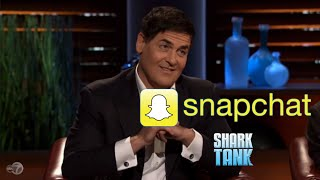 Snapchat on Shark Tank