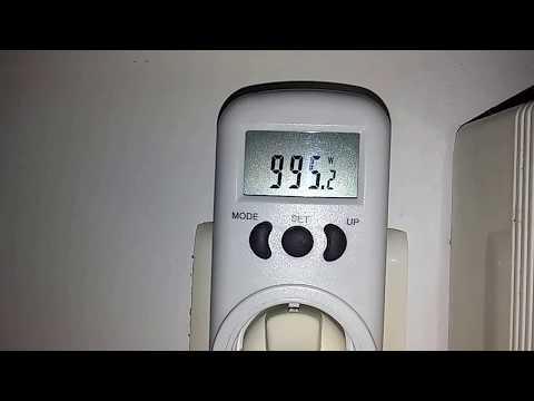 Κατανάλωση 18000 btu inverter κλιματιστικού στην πράξη - Έλεγχος με μετρητή