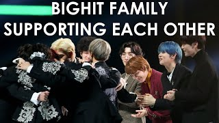 all bts and txt interactions at the 2019 MMA