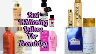 BEST WHITENING LOTIONS FOR PROMIXING AND SKIN WHITENING