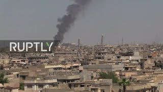 LIVE from Mosul frontline as anti-IS coalition pushes to finish operation