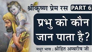 प्रभु को कौन जान पाता है? | Shree Krishna Prem Ras | Part 6 | Shree Hita Ambrish Ji | New Delhi
