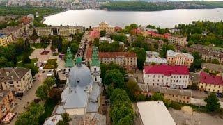 Города Украины с высоты птичьего полета  - Тернополь