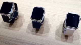 A look at the Apple Watch models: $349 to $10,000.