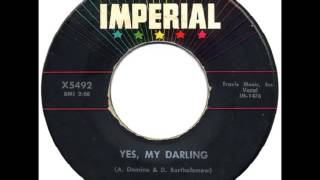 Fats Domino - Yes My Darling - January 28, 1958