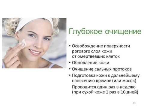 Уход за кожей презентация