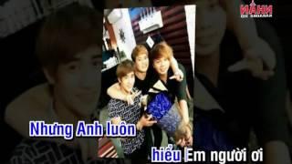 Karaoke Hình như em không vui - Tam Hổ - Nguoicodonvn2008.info ( Dual)