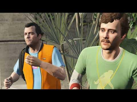 GTA 5 прохождение На PC - Часть 8 - Добавить в друзья