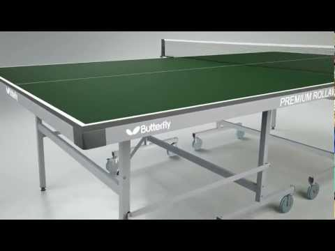 Butterfly Premium Rollaway 19 Table Tennis Table
