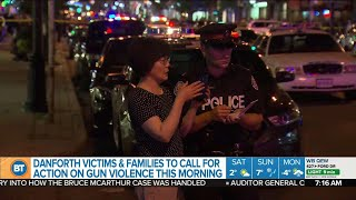 Danforth shooting victims and family to speak out against gun violence