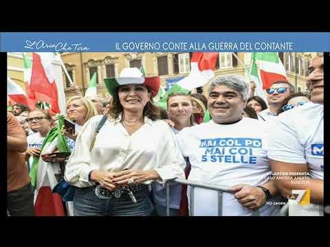 """Myrta Merlino sul cappello da cowboy tricolore: """"Rivendico il diritto alla frivolezza"""", Daniela ..."""