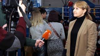Ольга Бабенко поприветствовала участников областного турнира по кунг-фу