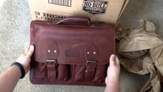 Bashful Billionaire's Briefcase From Duluth Trading Company Unboxing 3-8-14