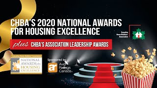 CHBA 2020 Virtual Awards Gala