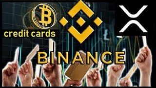 XRP BREAKING NEWS: Credit Cards Via Binance