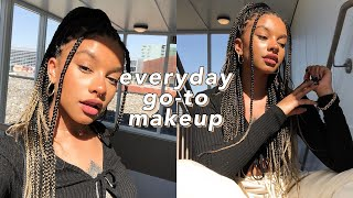 My Everyday Makeup Routine. *brown Liner + Faux Freckles*