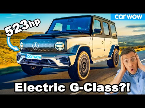 New Mercedes EQG - the G-Class goes ELECTRIC with 523hp!
