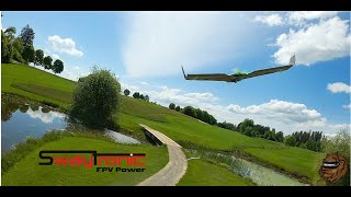 Golf course FPV Chase Plane