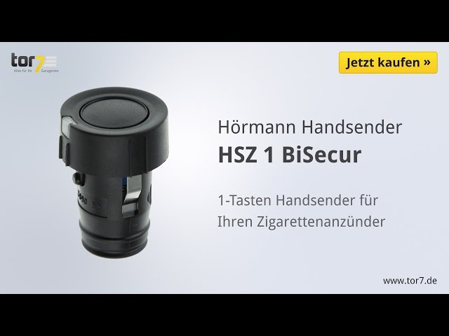 Produktvideo Hörmann Handsender HSZ 1, BiSecur, schwarz