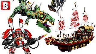 LEGO Ninjago Movie Official Set Pictures Revealed! | LEGO News