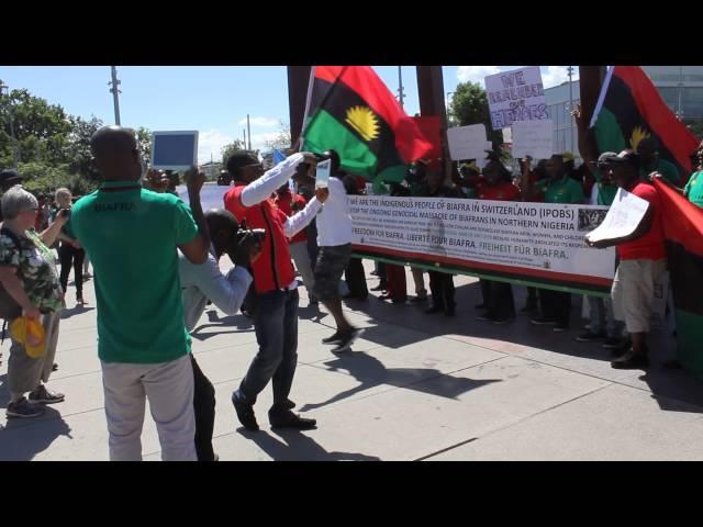 Biafrans from Switzerland-Geneva 30 may 2014