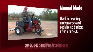 Toro Sand Pro Overview