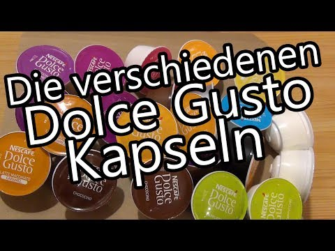 Die verschiedenen Nescafé Dolce Gusto Kapseln