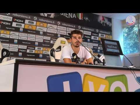 Interviste Robur Siena - Pistoiese - 1-1 - 2016