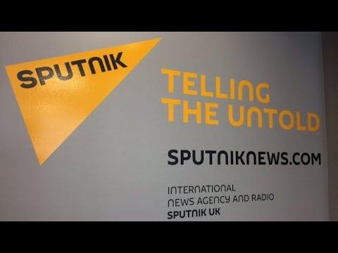 Поздравление Международного новостного агенства и радио Sputnik