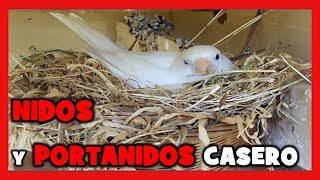 Nidos caseros para canarios 123vid for Como hacer un criadero de cachamas