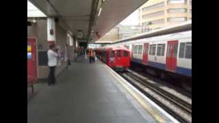preview picture of video 'May 22nd 2011 London Underground '38 Stock Harrow on The Hill'