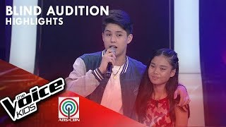 Kyle, hinarana si Angel para piliin si Coach Sarah | The Voice Kids Philippines 2019
