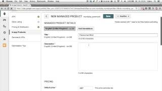 Google Play Developer Console: Adding An In-App Purchase