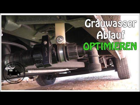 Wohnmobil Abwassertank Ablauf verlängern - Technik und Tipps