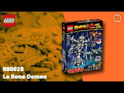 Vidéo LEGO Monkie Kid 80028 : Le Bone Demon