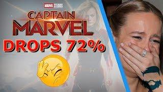 Disney Buying Captain Marvel Tickets & 750 Million To Break Even? Sales Fall Hard
