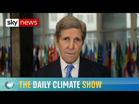 John Kerry on climate talks and contaminated water from Fukushima