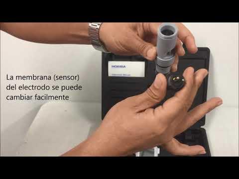 Horiba DO 110K Medidor portátil de Oxígeno Disuelto