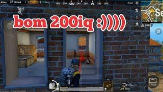 PUBG Mobile - Thử Thách Dùng Bom Top 1 | Phi Phụ Bất Thành :))