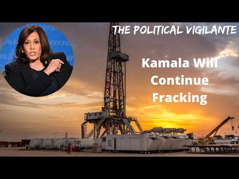 Harris Agrees To Continue Fracking In VP Debate