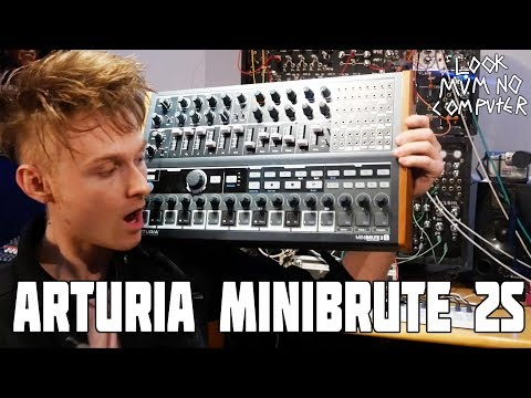 ARTURIA MINIBRUTE 2S its Ready for Namm 2018