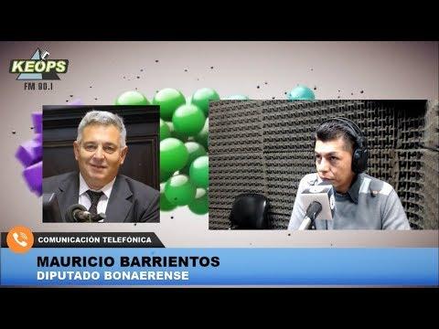 """El diputado Barrientos destacó la fórmula Kicillof-Magario: """"Se complementa muy bien"""""""