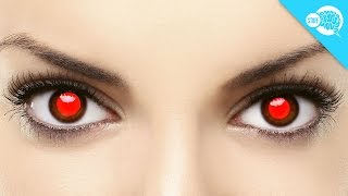 What Causes Red Eye In Photos?