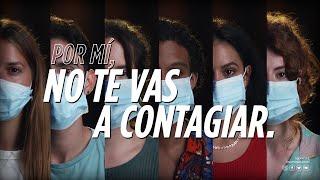 #PorMíNoTeVasAContagiar