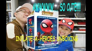 """Vlog 017 - """"Inflate-A-Heroes Unboxing: Spiderman"""""""