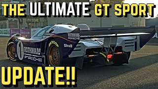 What would the *ULTIMATE GT SPORT UPDATE* look like??