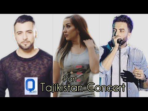Valy, Benyamin Bahadori & Mahiri Tahiri - Tajikistan Concert Part 1
